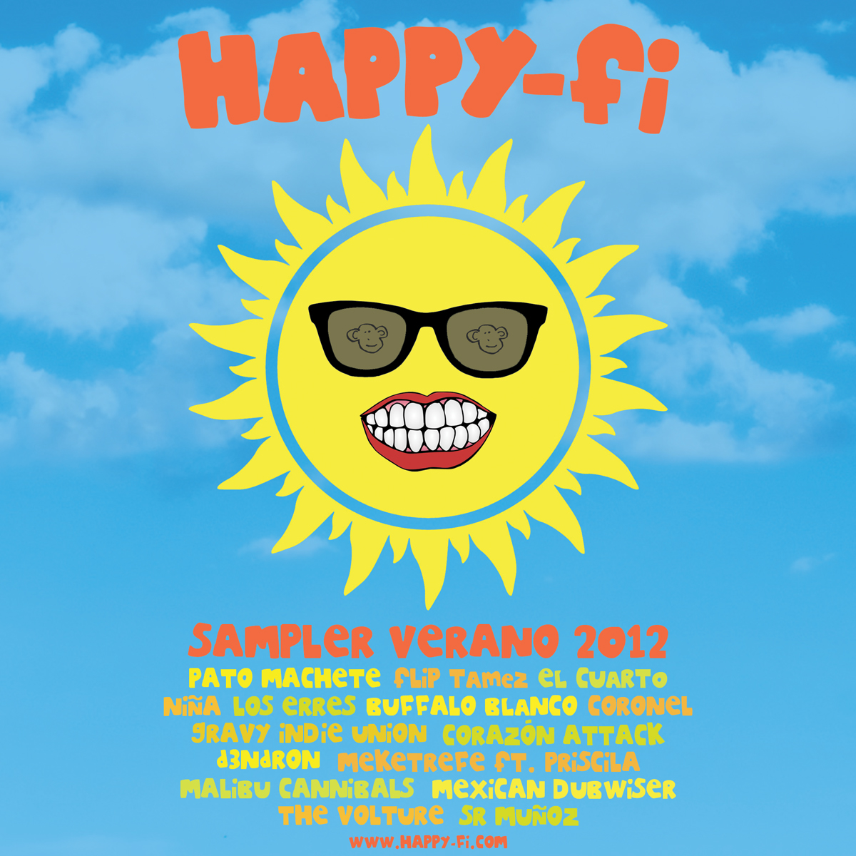 Happy-Fi Sampler Verano 2012
